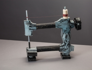 ruth_franklin- Blue sewing machine on stand 10